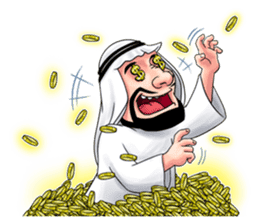 Handsome Uncle from Middle East sticker #10978237