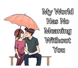 Romantic Moments 3 sticker #10978608