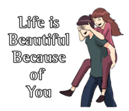 Romantic Moments 3 sticker #10978626