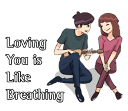 Romantic Moments 3 sticker #10978630