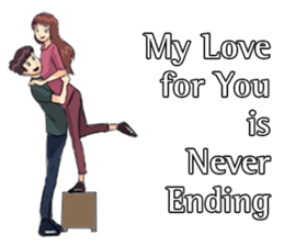 Romantic Moments 3 sticker #10978639