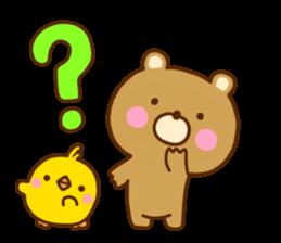 Bear Koro sticker #10986438