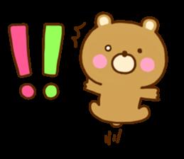 Bear Koro sticker #10986444