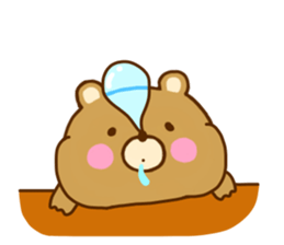 Bear Koro sticker #10986446