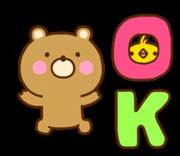 Bear Koro sticker #10986459