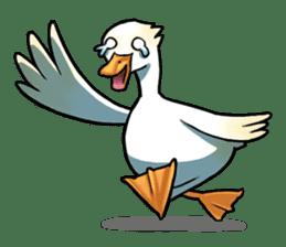 Quack Quack Duck Talk (part 3) sticker #10989359
