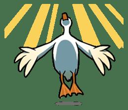 Quack Quack Duck Talk (part 3) sticker #10989369