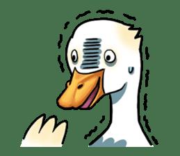 Quack Quack Duck Talk (part 3) sticker #10989373