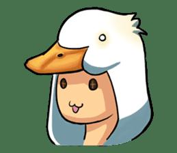 Quack Quack Duck Talk (part 3) sticker #10989383