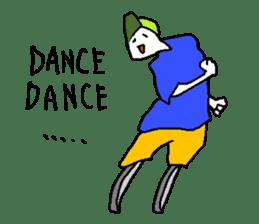 LEGLESS DANCER sticker #10990206