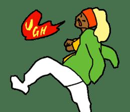 LEGLESS DANCER sticker #10990213