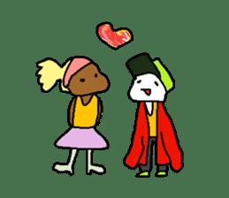 LEGLESS DANCER sticker #10990221