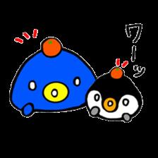 Penguin Mochi sticker #10995387