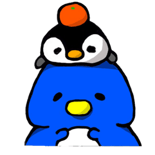 Penguin Mochi sticker #10995399