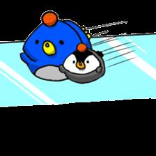 Penguin Mochi sticker #10995408