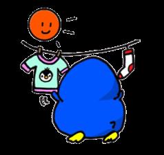 Penguin Mochi sticker #10995414