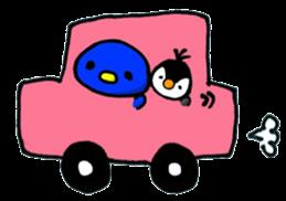 Penguin Mochi sticker #10995421