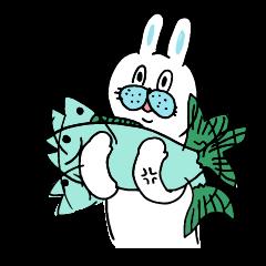 OKAME Sticker 4 -More rabbit SASAKI-