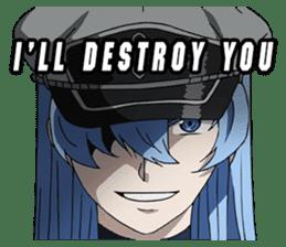 Akame ga Kill! sticker #11012960