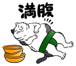 Cat Sumo Wrestlers sticker #11017313
