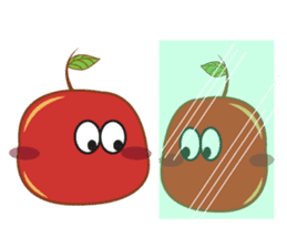 Fresh and Healthy Red Tomatoes sticker #11018207