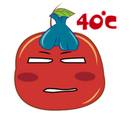 Fresh and Healthy Red Tomatoes sticker #11018222