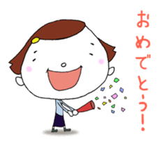 Day-to-day cute housewife sticker #11019803
