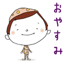 Day-to-day cute housewife sticker #11019814