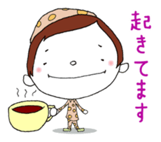 Day-to-day cute housewife sticker #11019815