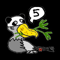 My Dear,Shoebill Stork 5 ©oharuta| elPortale | Sell LINE Sticker, Sell LINE Theme