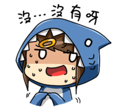 Shark's expressions NO.2 sticker #11024720