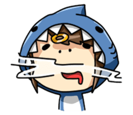 Shark's expressions NO.2 sticker #11024739