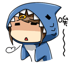Shark's expressions NO.2 sticker #11024747