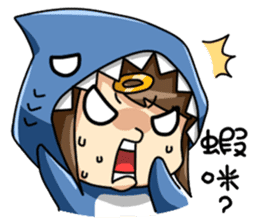 Shark's expressions NO.2 sticker #11024753