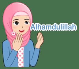 I LOVE HIJAB sticker #11036617