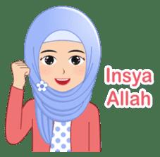 I LOVE HIJAB sticker #11036624