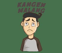 Mahasiswa Malang sticker #11039808