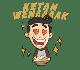 Mahasiswa Malang sticker #11039809