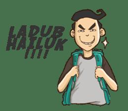Mahasiswa Malang sticker #11039811