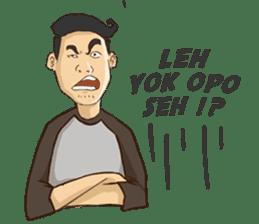 Mahasiswa Malang sticker #11039813