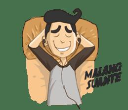 Mahasiswa Malang sticker #11039815