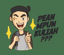 Mahasiswa Malang sticker #11039830