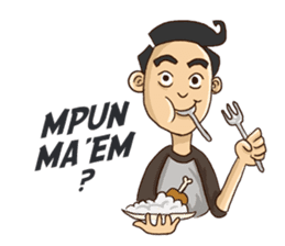 Mahasiswa Malang sticker #11039831