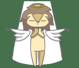 "The Stuffed  Lion ""Ronetia"" Sticker sticker #11041716"