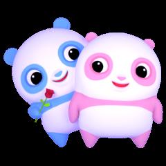 Panda Sweety : Gingan & Ginbai