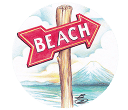 Zaricor's Official BEACH stickers! sticker #11054959