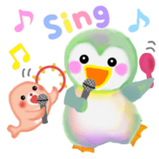 penguin pempem 21 sticker #11057181