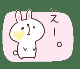 kimamani*usagi sticker #11062784