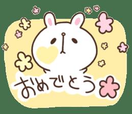 kimamani*usagi sticker #11062789