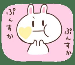 kimamani*usagi sticker #11062790